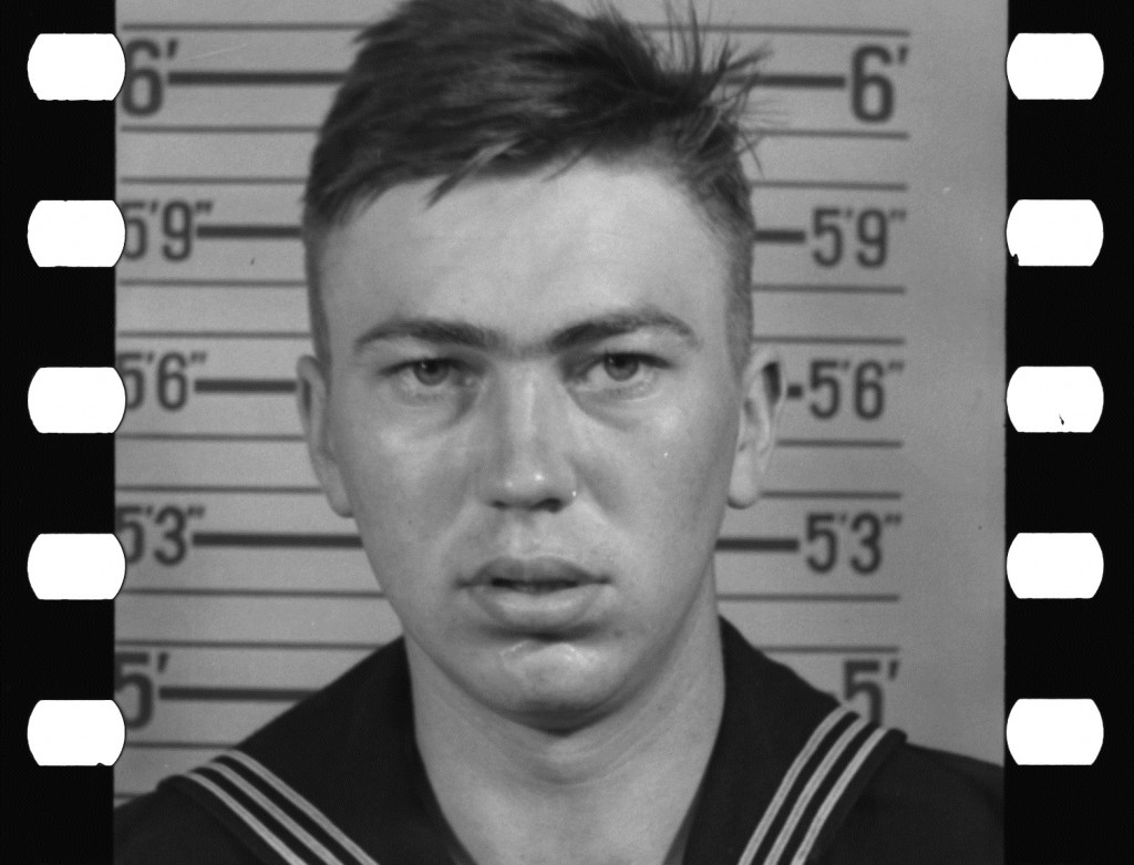 WWII Navy service record enlisted photo