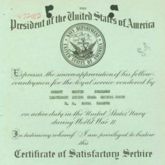 Access to WWII U.S.N. Service Records: How to Obtain a WWII Navy O.M.P.F. (Official Military Personnel File)