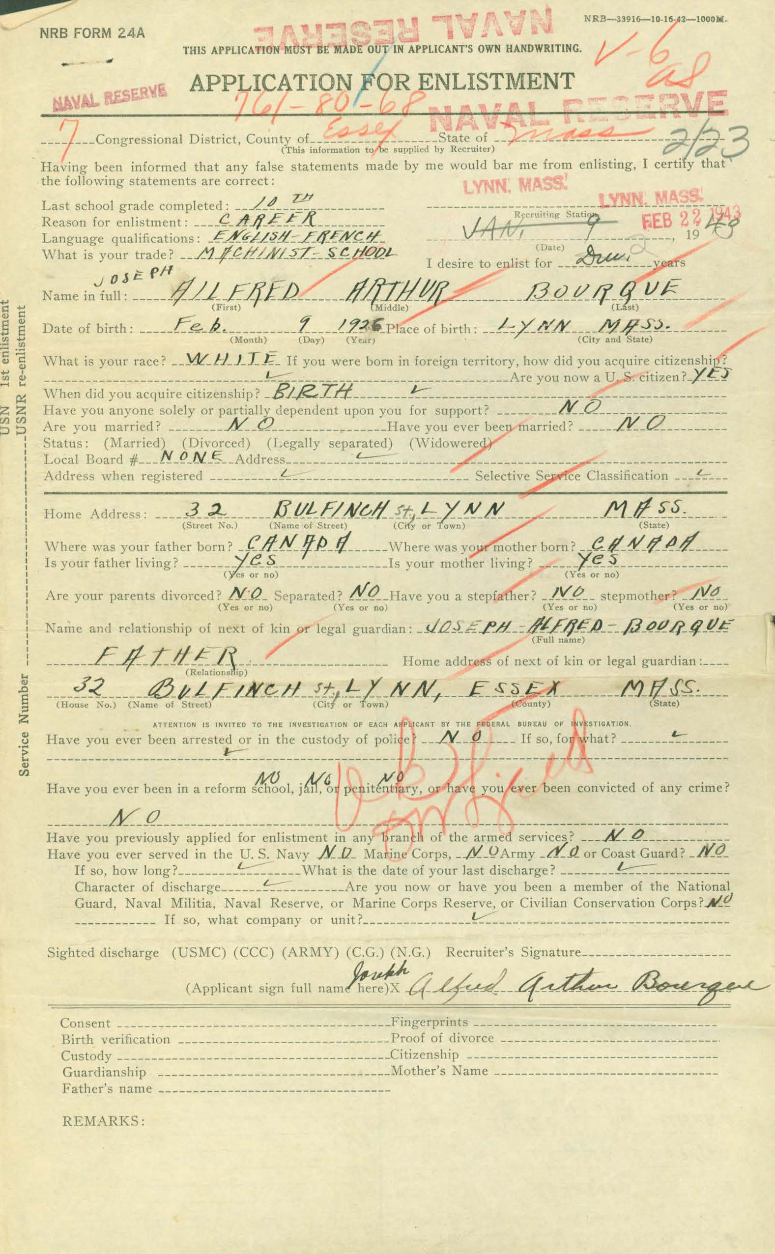 WWII Era Navy Military Service Records An Overview